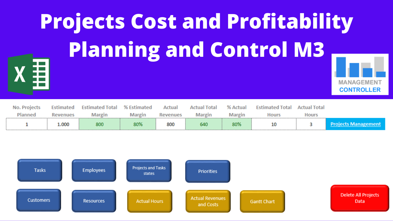 Projects Cost Control Excel