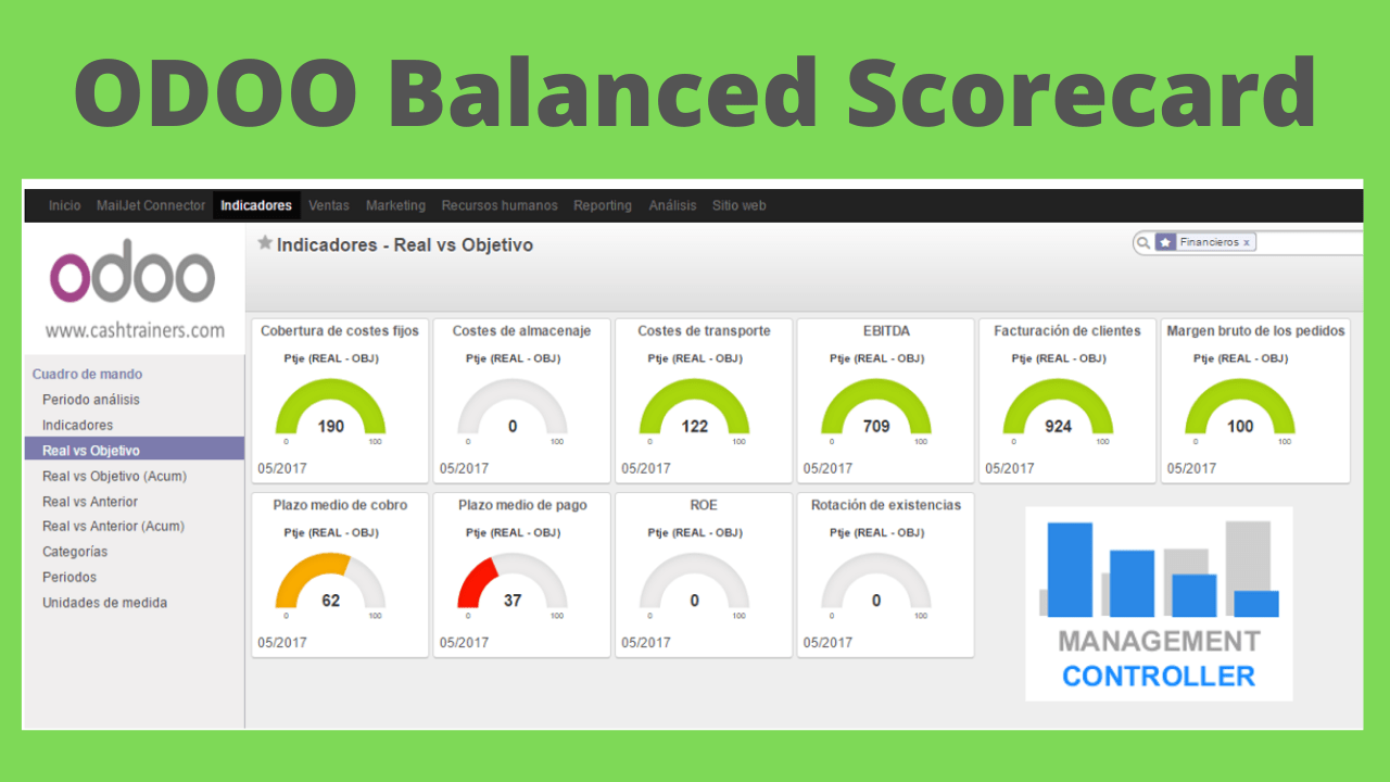 ODOO Balanced Scorecard