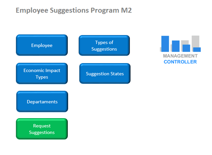 Employee Suggestions Program Free Excel Template