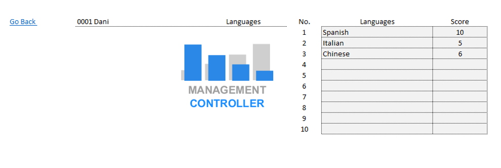 Employee Management Free Excel Download