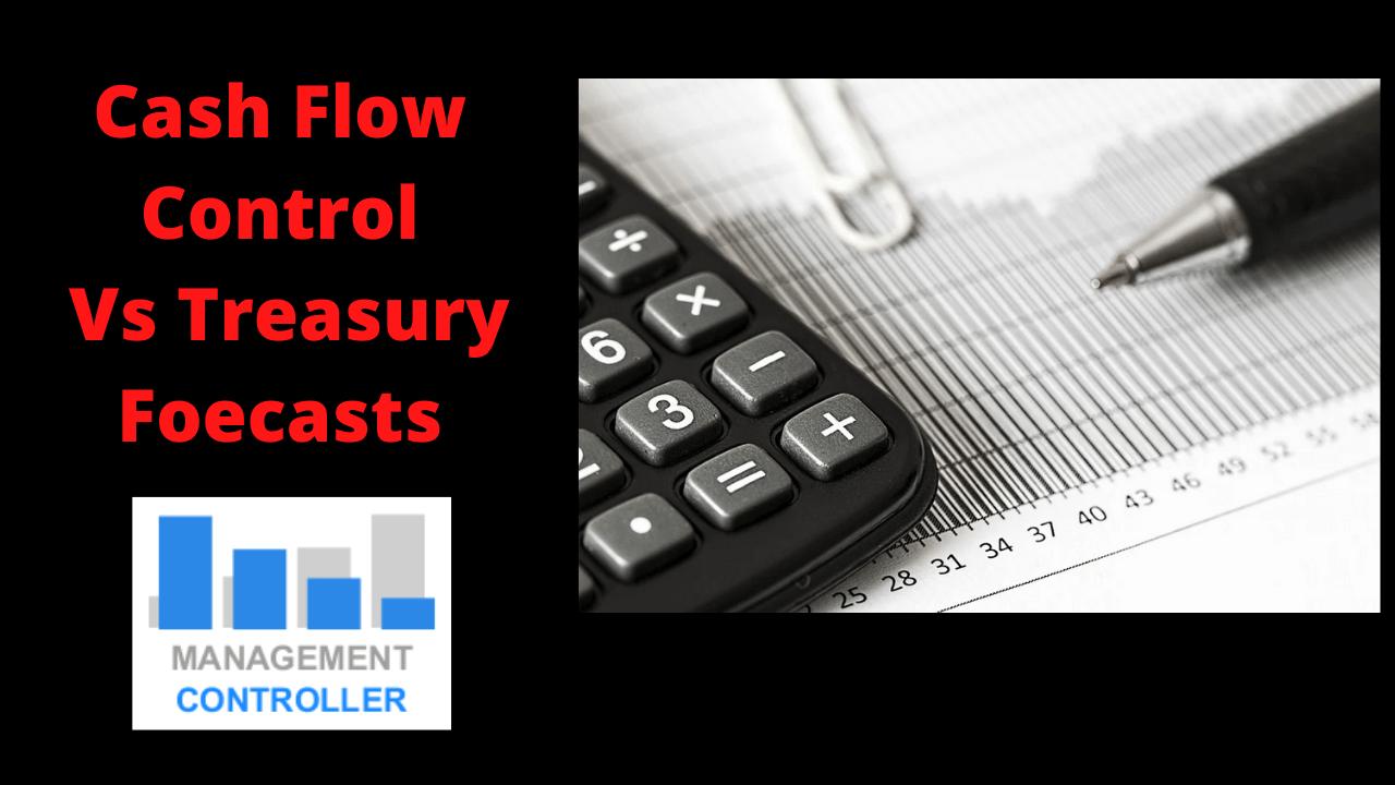 Cash Flow Vs Treasury Foecasts