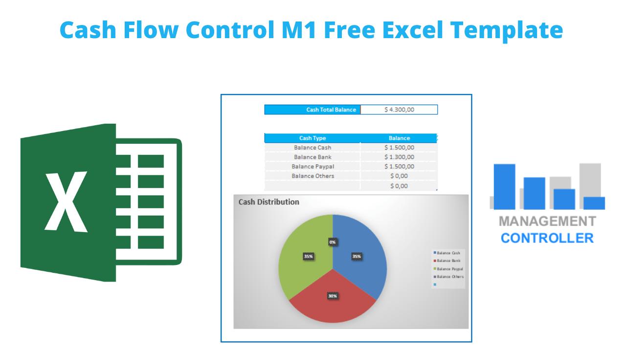 Cash Flow Control M1 Free Excel Template